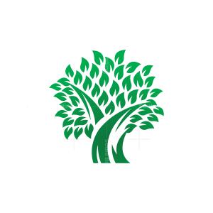 Green Tree Logo Tree Logo
