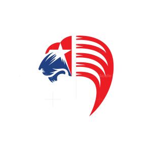 American Lion Logo Usa Lion Logo