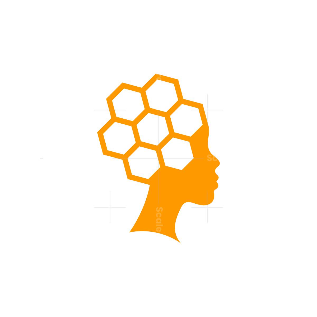 Bee Hive Honey Queen Logo