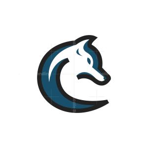 Blue Fox Logo Fox Head Logo