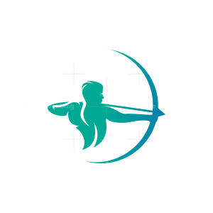 Blue Archer Logo
