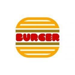 Pop Burger Symbol Logo