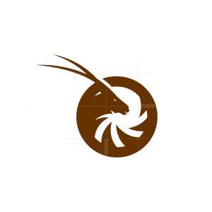 Circle Oryx Logo Oryx Head Logo