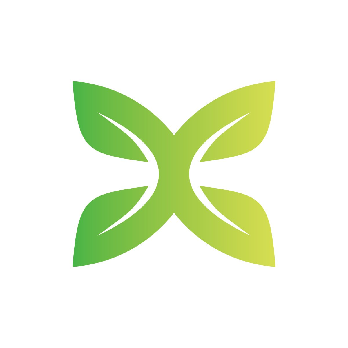 dc leaf nature symbol logo