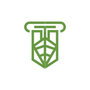 Nature Leaf Logo Environmental Law Logo