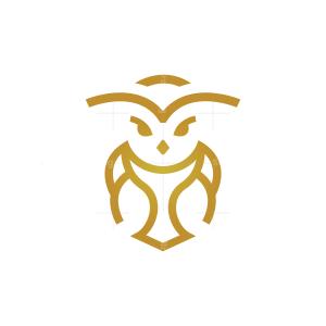 Golden Owl Logo Owl Logo