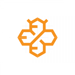 Hexagon Bee Logo