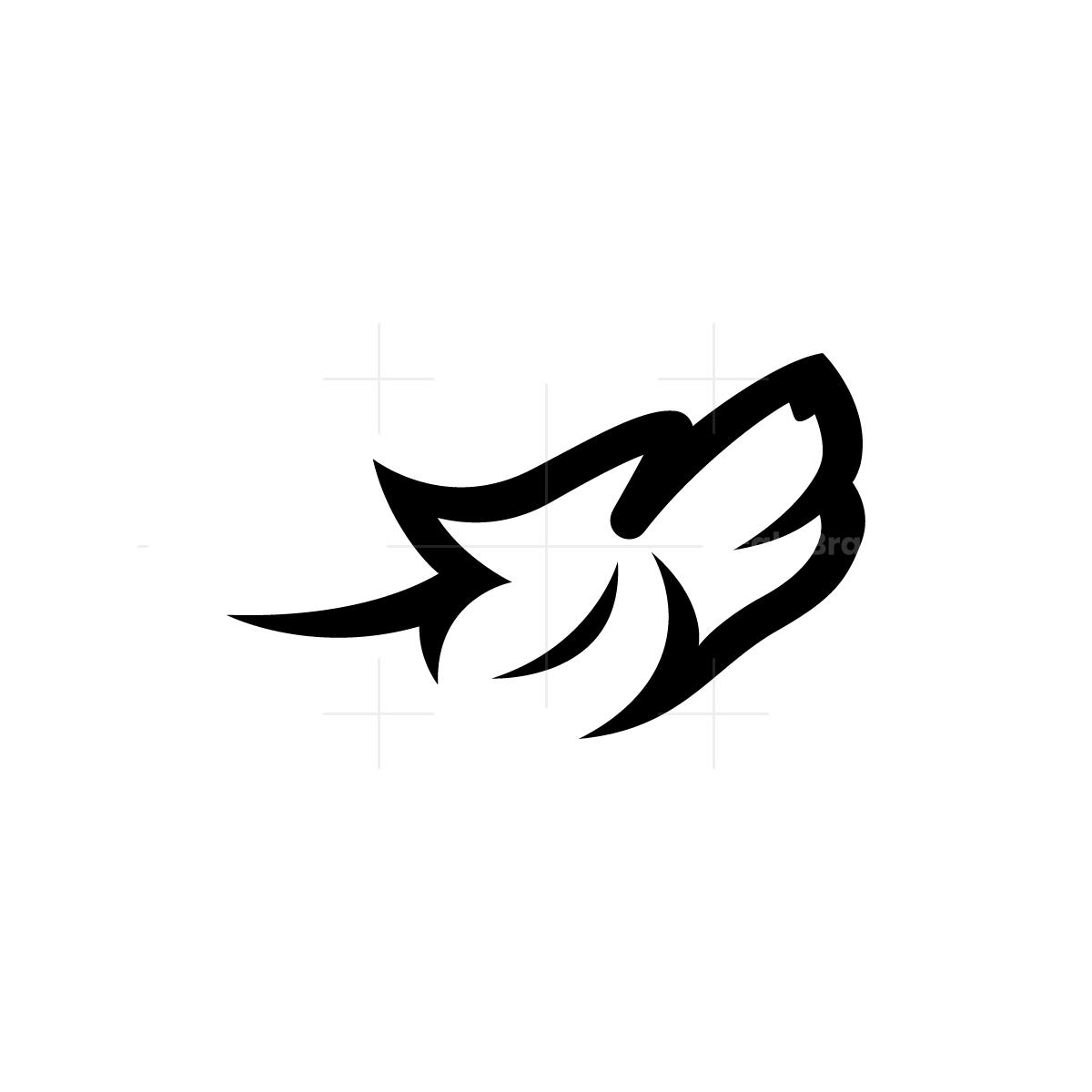 Howl Wolf Logo