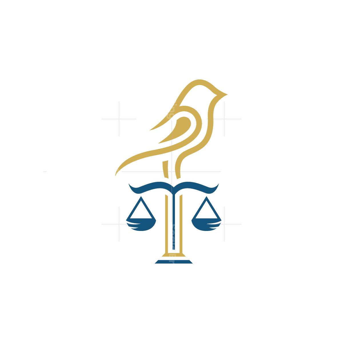 Legal Law Bird Logo