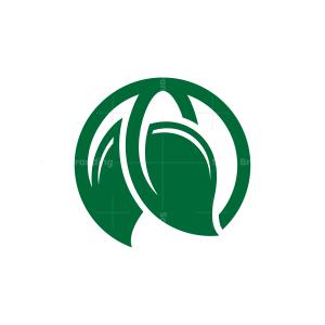 Nature Natural Leaves Earth Logo