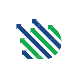 Arrows Letter D Logo