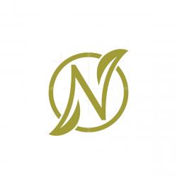 Letter N Nature Logo