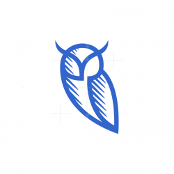 Lines Owl Logo