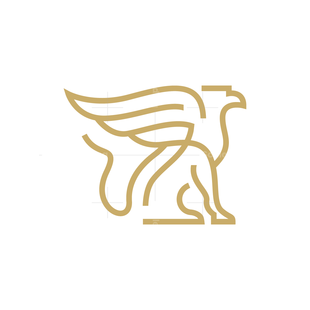 Lines Griffin Logo