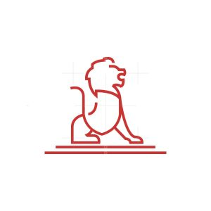 Shield Lion Logo