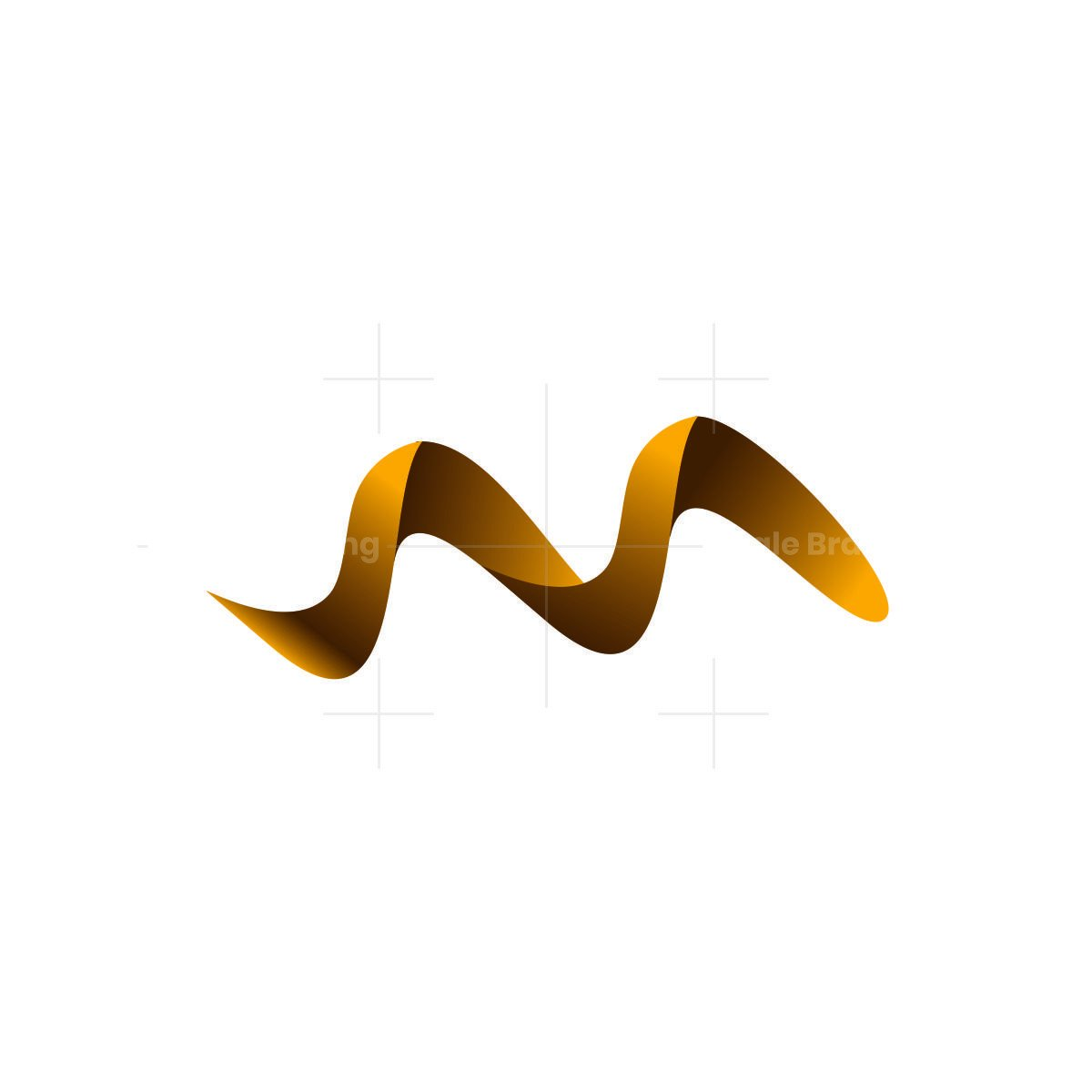 3d stylish and trendy initial m letter logo