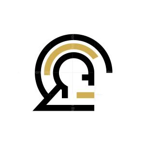 Warrior Helmet Logo