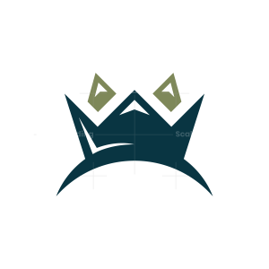 Mountain Peak Crown Logo