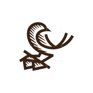 Nest Bird Logo
