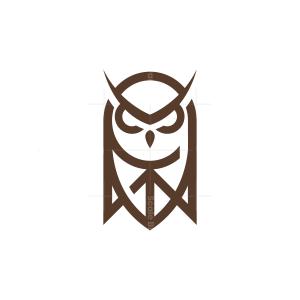 Security Shield Owl Logo