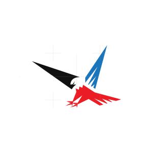 Sharp Flying Eagle Logo