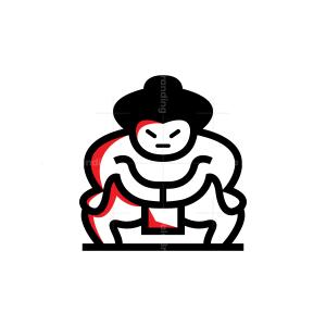 Sumo Wrestler Logo