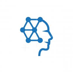 Technology Brain Mind Logo