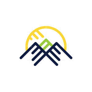 Three Peak Mountain Logo