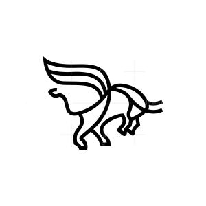 Winged Bull Logo