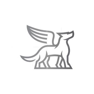 Winged Wolf Logo