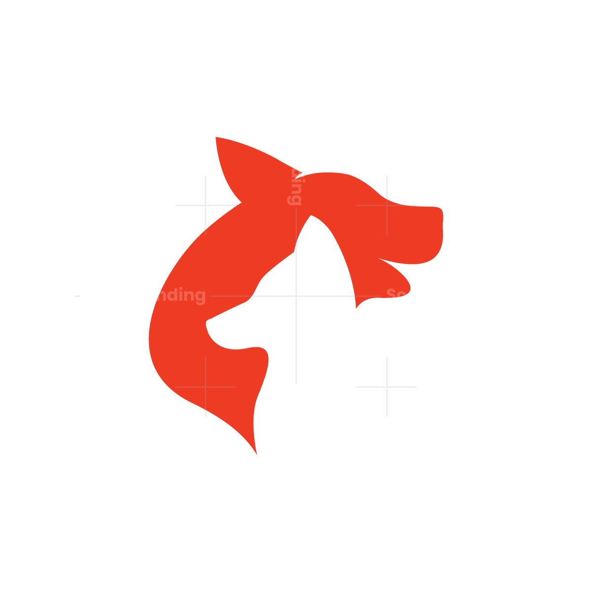 Wolf And Fox Logo
