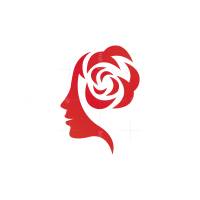 Rose Woman Logo