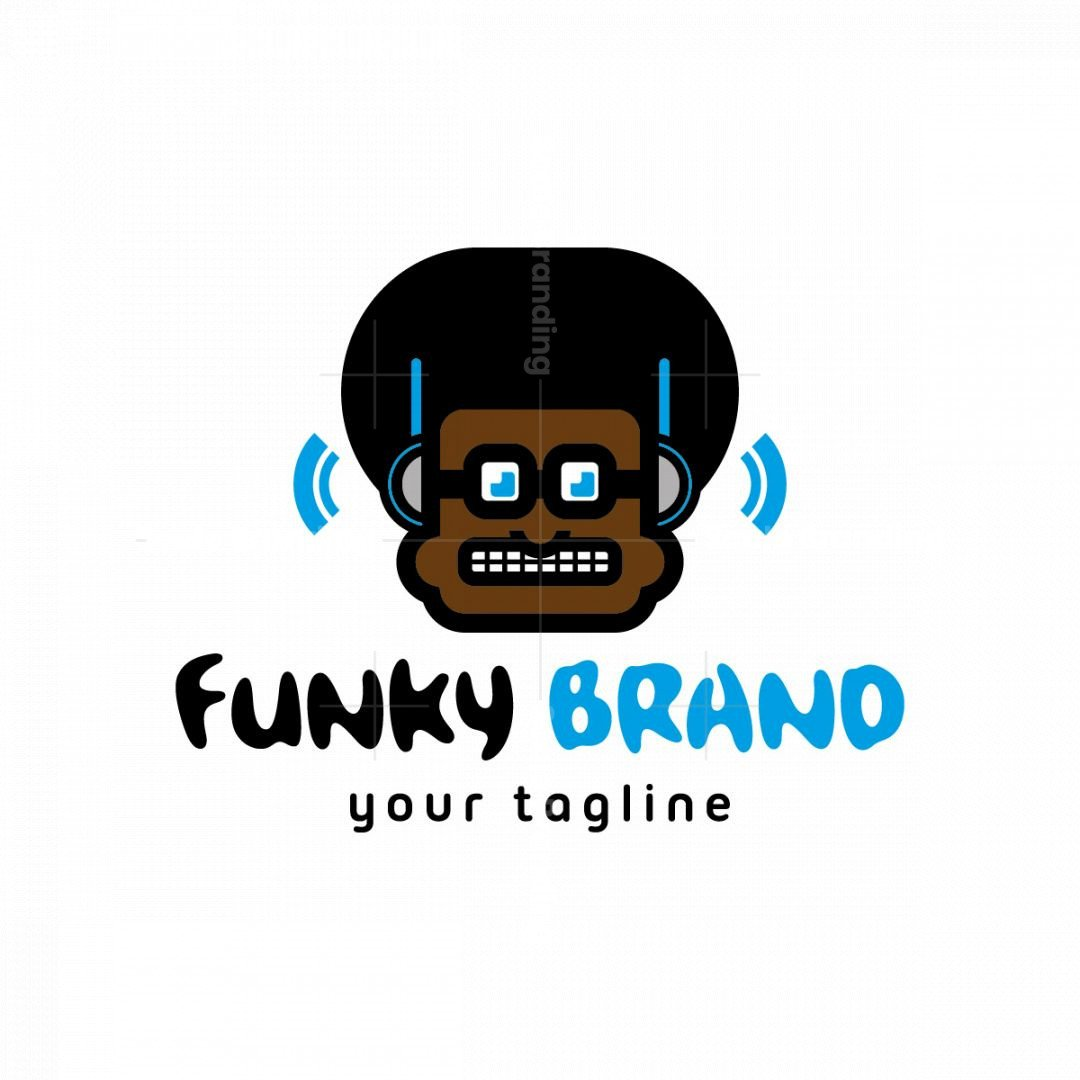 Rhythm And Beats Mascot Logo