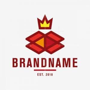 Crown Box Moving Company Logo