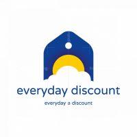 Sunny Discount Price Tag Logo