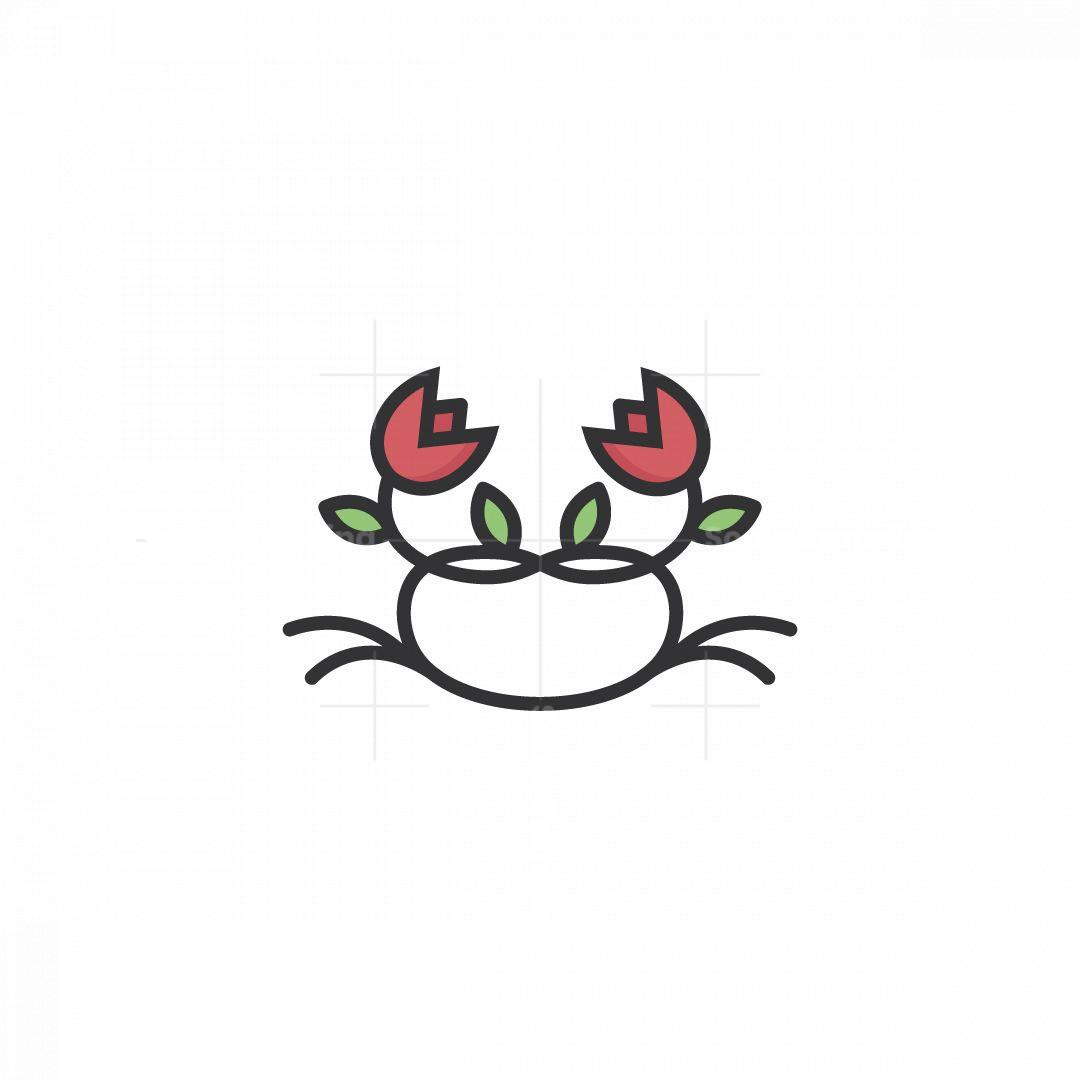Tulip Crab Logo
