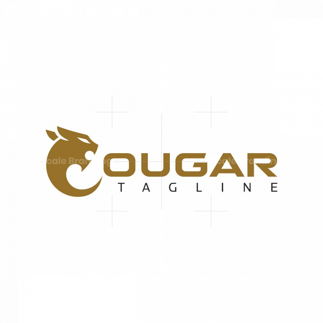 Gold Cougar Logo