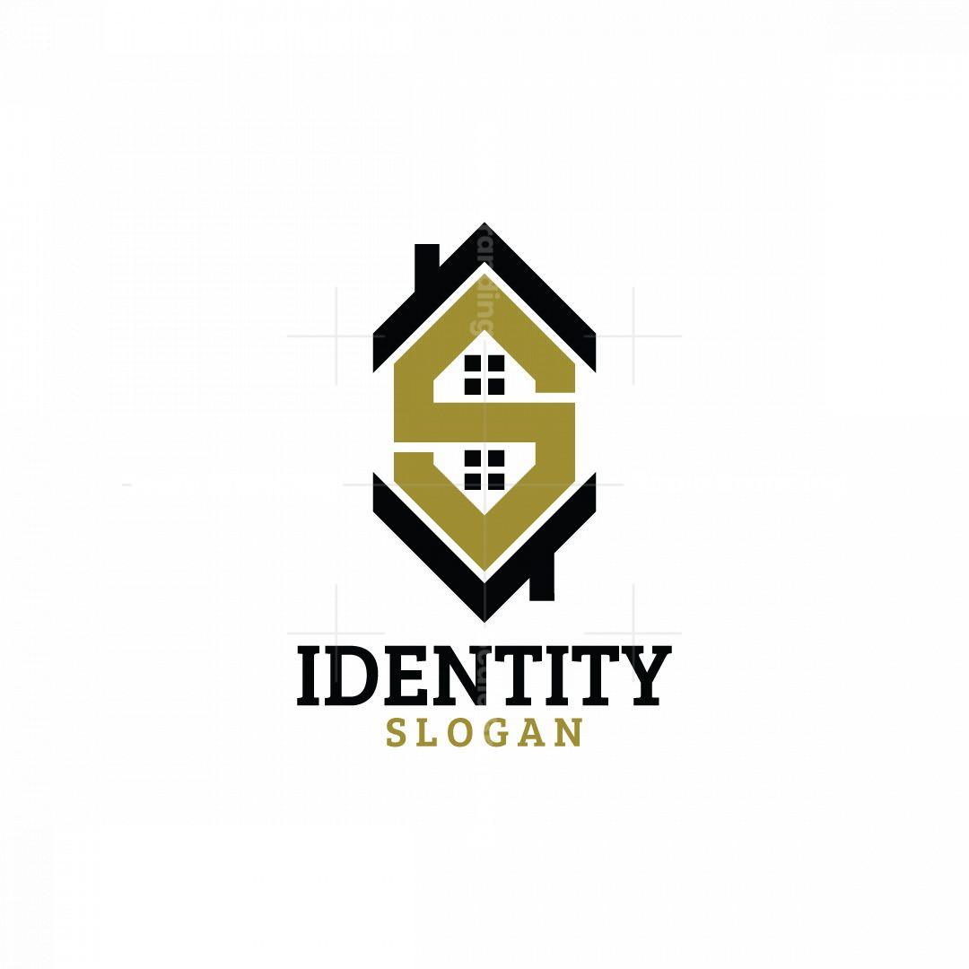 Letter S Home Logo