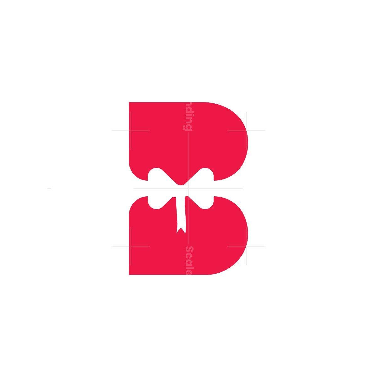 Letter B Gift Box Logo