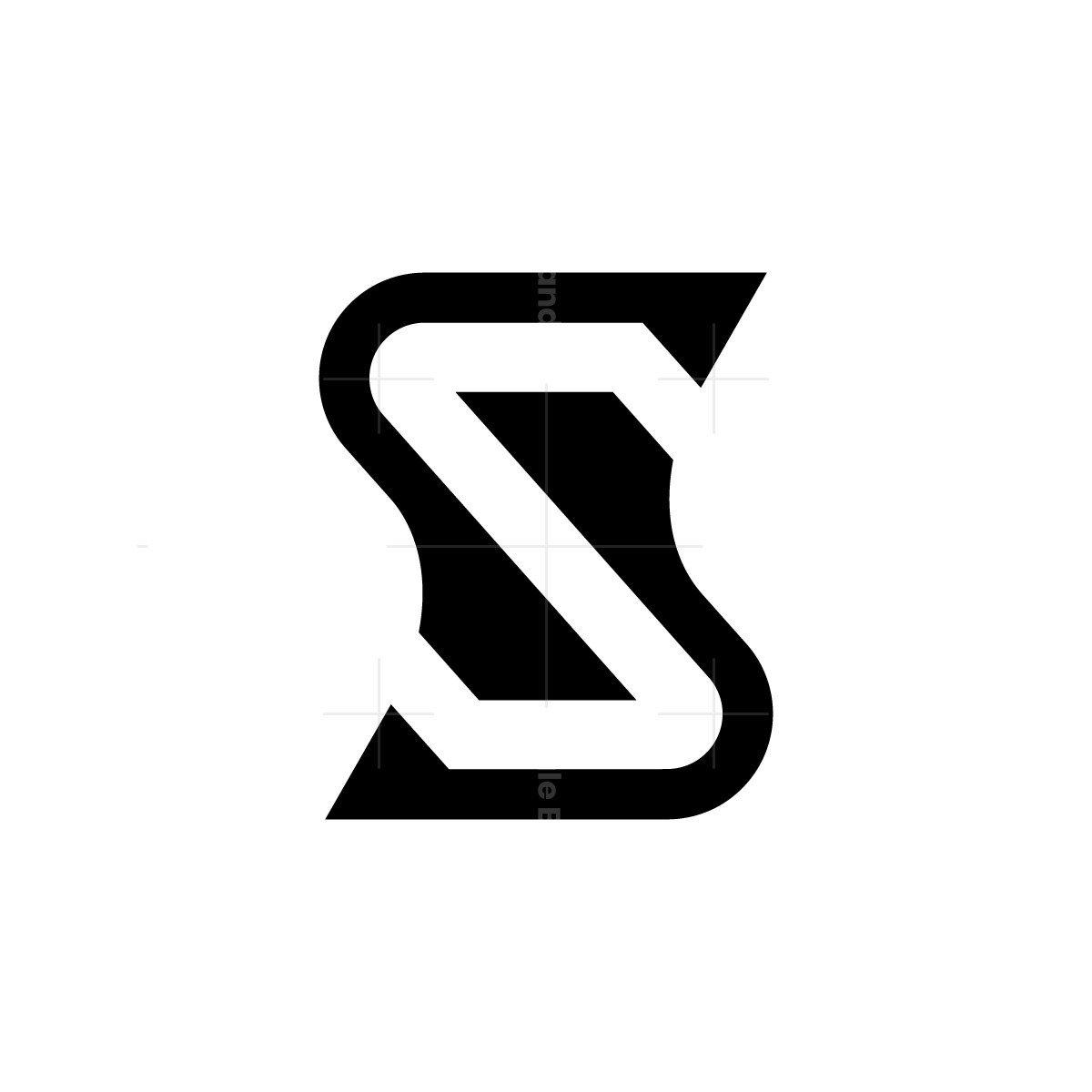 Modern Letter S Logo Design