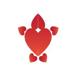 Red Heart Tortoise Logo