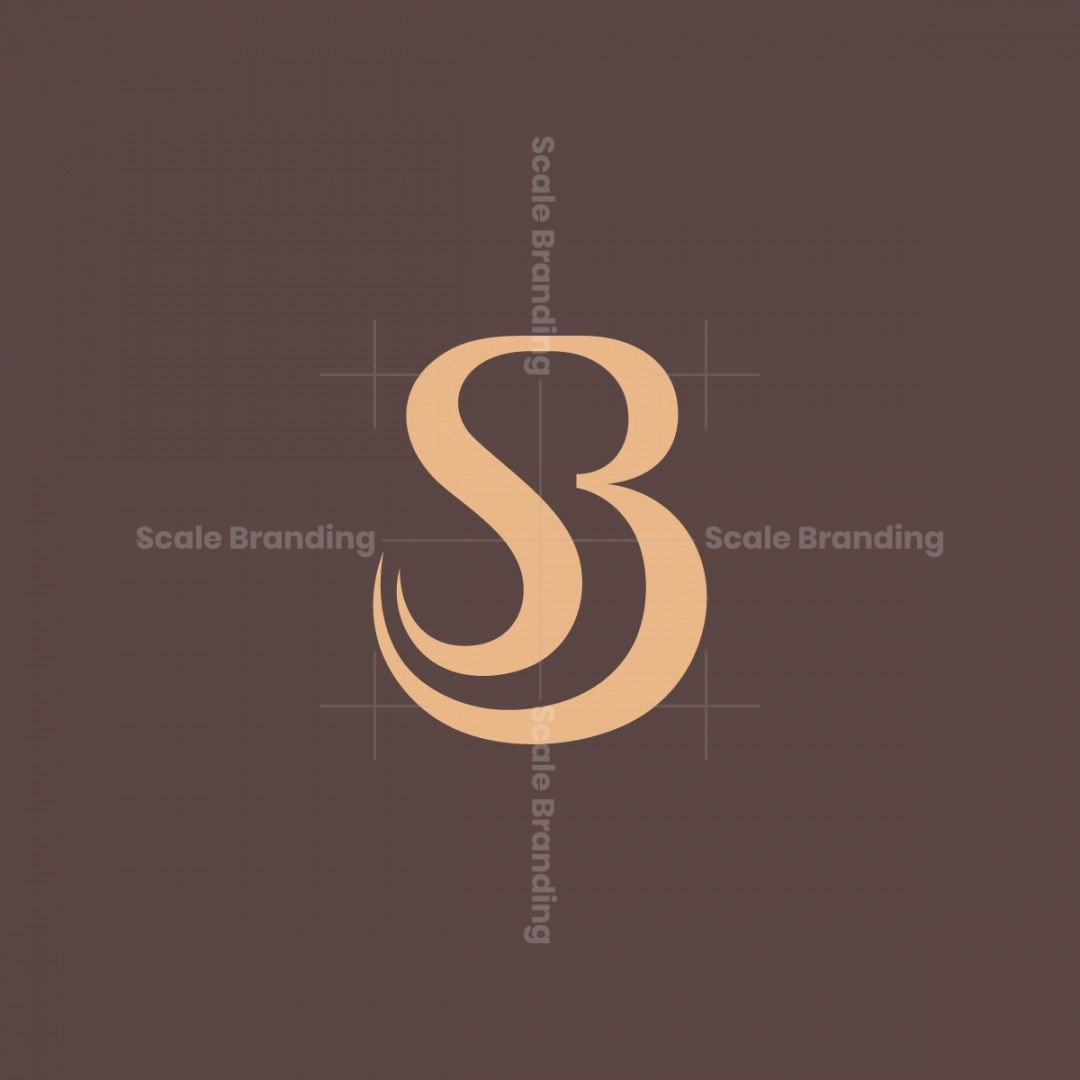 Soft Letter Sb Logo