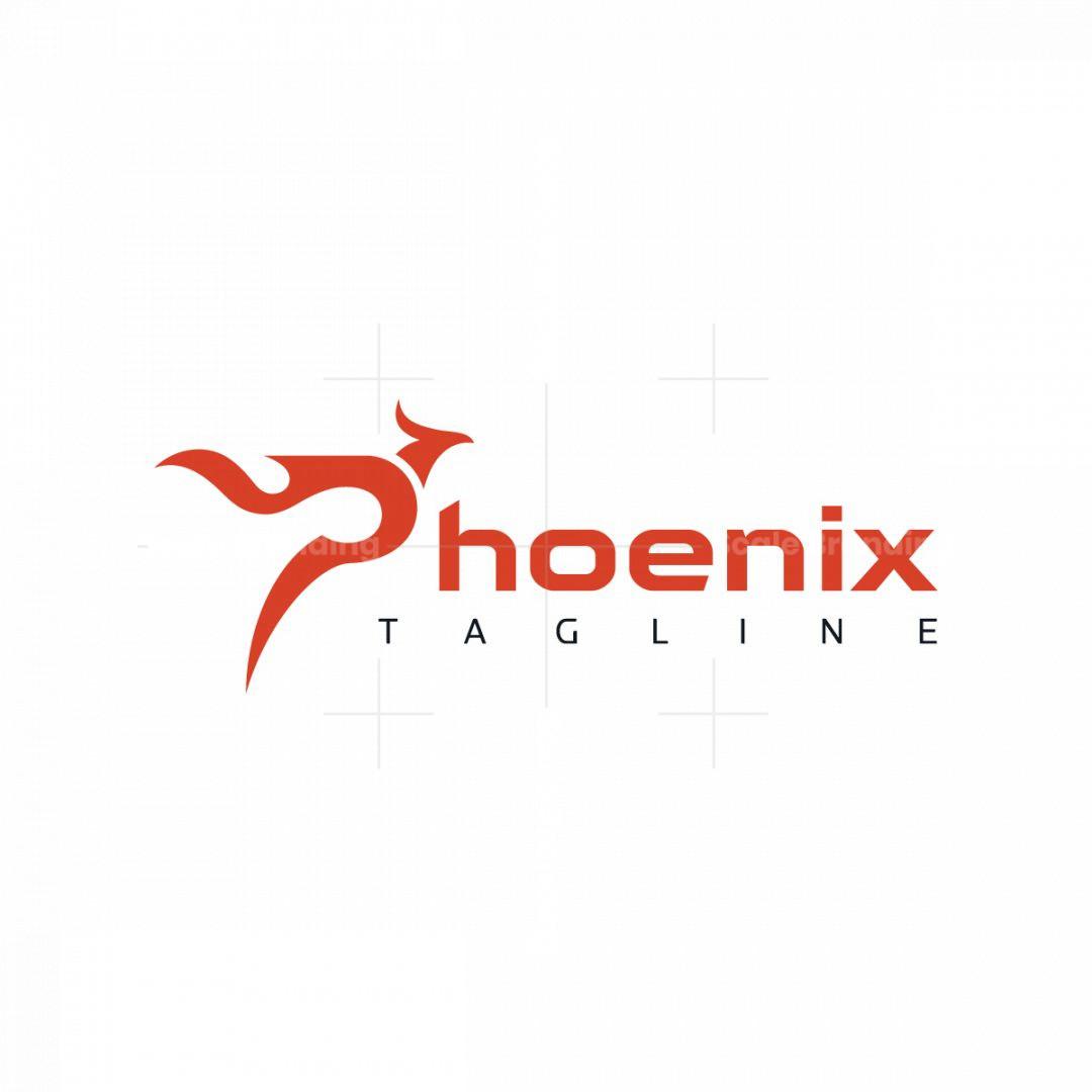 Stylish Phoenix Logo