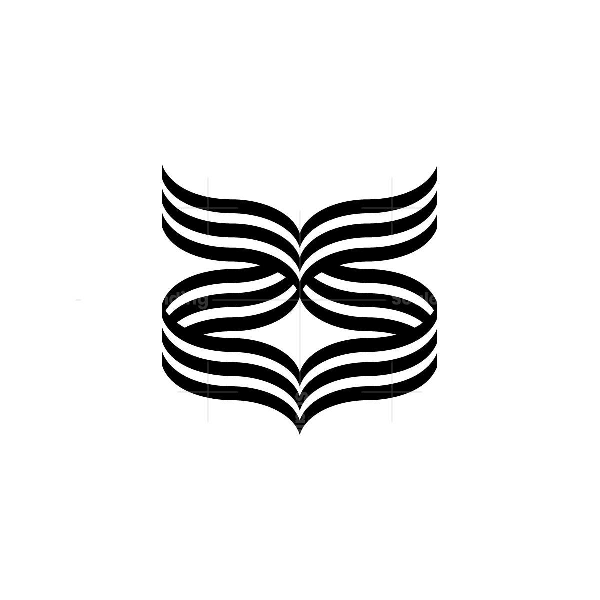 Abstract Owl Logo