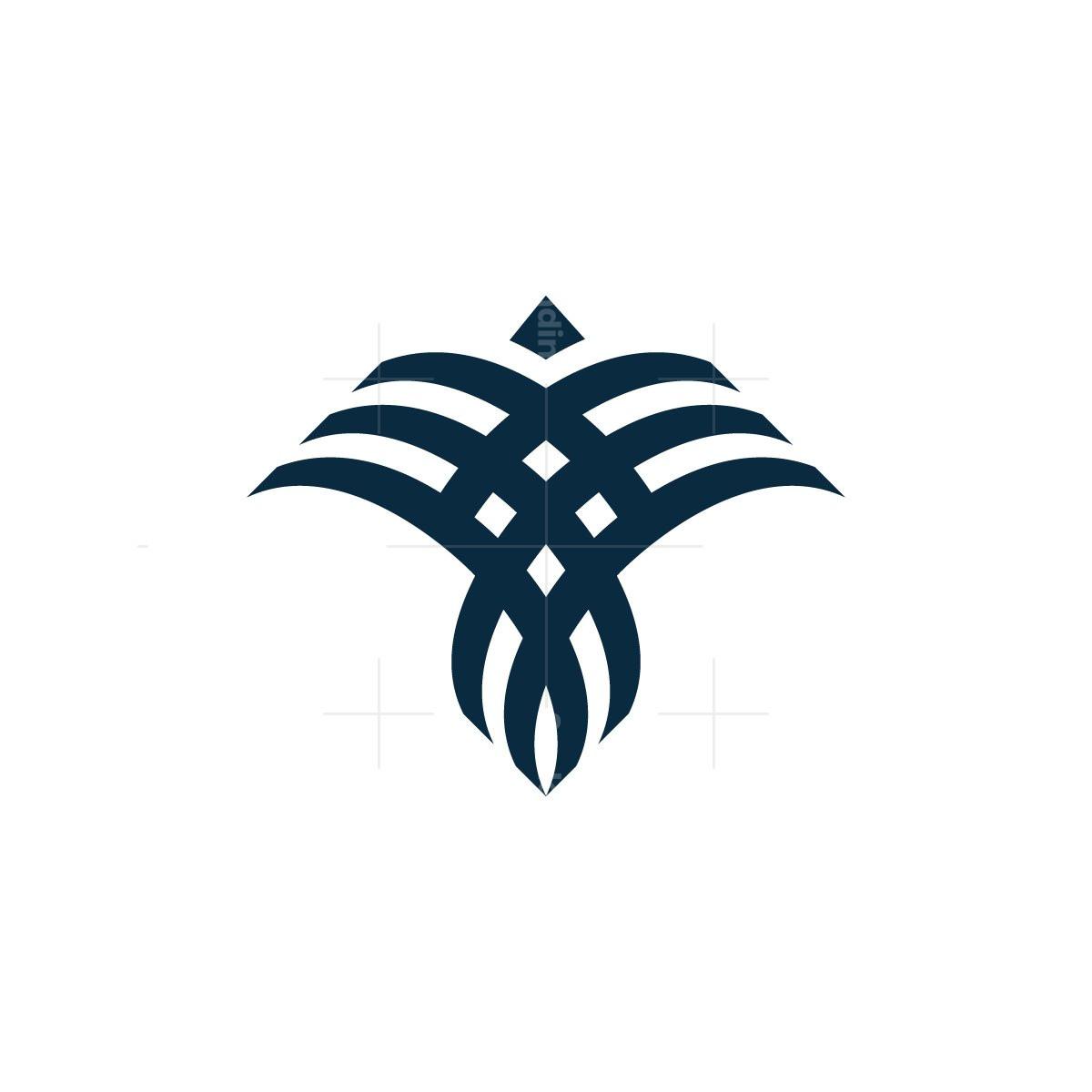 Abstract Bird Logo