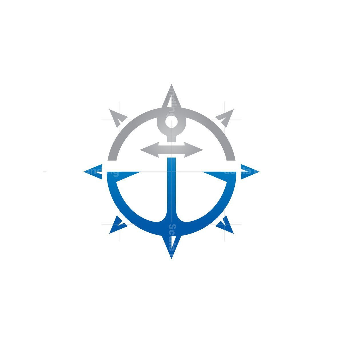 Anchor Compass Logo