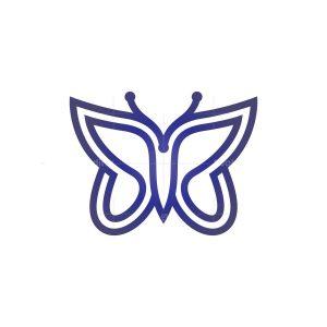 Flying Butterfly Logo