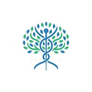 Nature Natural Caduceus Logo