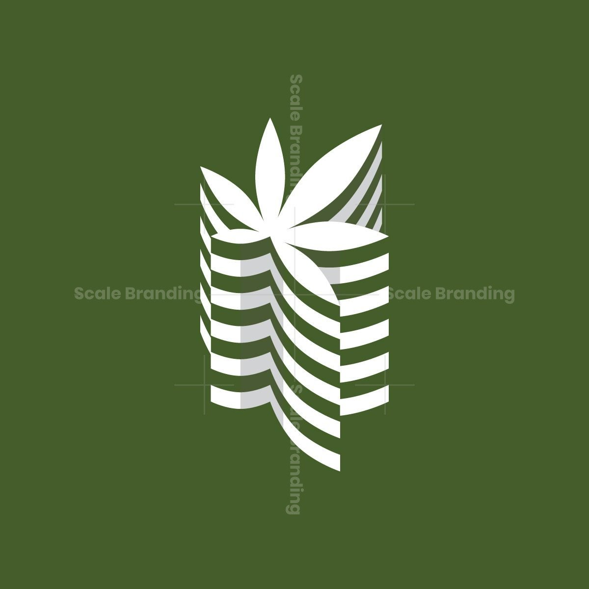 Cannabis Building Logo