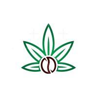 Cannabis Cbd Coffee Logo